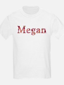 Megan Pink Flowers T-Shirt