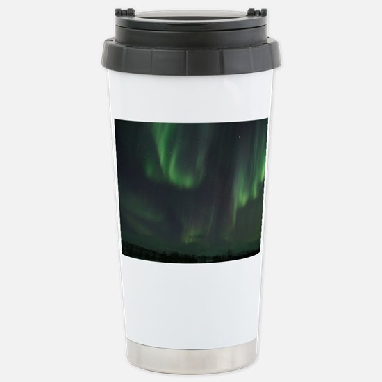 Northern Lights Stainless Steel Travel Mug
