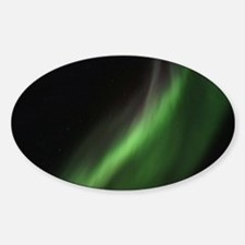 Northern Lights Sticker (Oval)