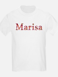 Marisa Pink Flowers T-Shirt