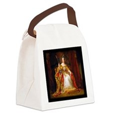 Queen Victoria Canvas Lunch Bag