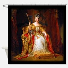 Queen Victoria Shower Curtain