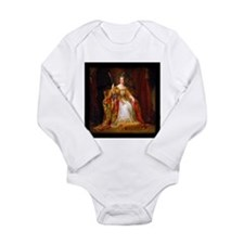 Queen Victoria Long Sleeve Infant Bodysuit