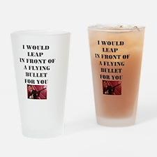Morrissey Bullet Drinking Glass