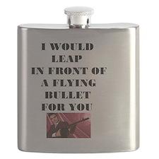 Morrissey Bullet Flask