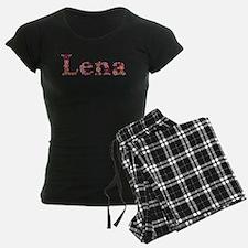 Lena Pink Flowers Pajamas