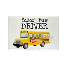 School Bus Driver Magnets