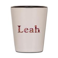 Leah Pink Flowers Shot Glass