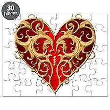 Valentine Heart Puzzle