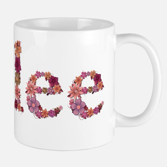 Kylee Pink Flowers Mugs