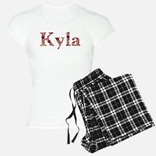 Kyla Pink Flowers Pajamas