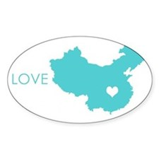 Love Crosses Oceans Decal