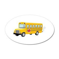 School Bus Wall Decal