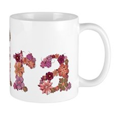 Kira Pink Flowers Mugs