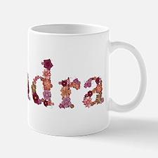 Kendra Pink Flowers Mugs