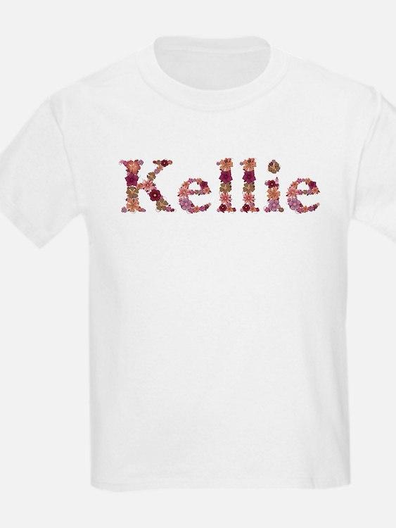 Kellie Pink Flowers T-Shirt