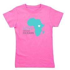 Love Crosses Oceans Girl's Tee