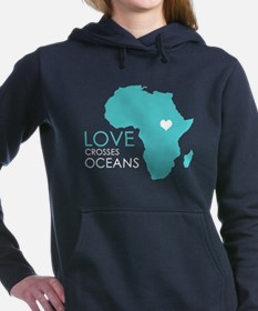 Love Crosses Oceans Hooded Sweatshirt