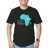 Africa Fitted T-shirts (Dark)