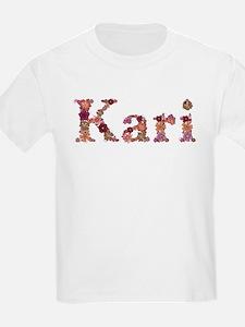 Kari Pink Flowers T-Shirt