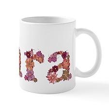 Kara Pink Flowers Mugs