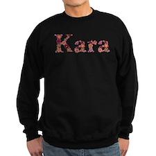 Kara Pink Flowers Sweatshirt