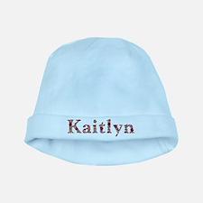 Kaitlyn Pink Flowers baby hat
