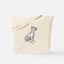 Dogo Argentino (Wht)-JTD Tote Bag