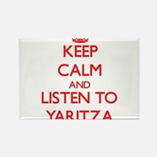 Keep Calm and listen to Yaritza Magnets