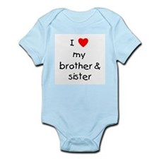 I love my brother & sister Infant Bodysuit
