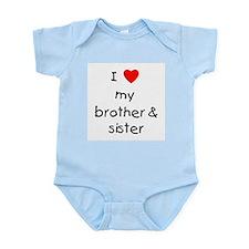 I love my brother & sister Infant Bodysuit