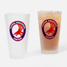 VP 19 Big Red Drinking Glass
