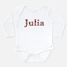 Julia Pink Flowers Body Suit