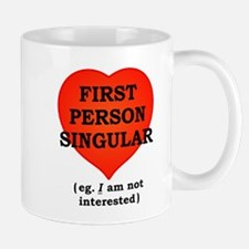 First Person Singular Mugs