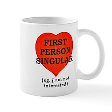 First Person Singular Mugs