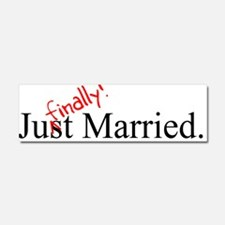 Cute About to marry Car Magnet 10 x 3