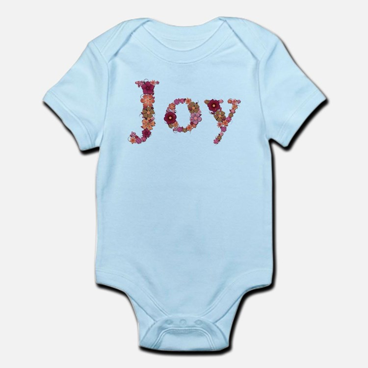 Joy Pink Flowers Body Suit