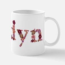 Jordyn Pink Flowers Mugs
