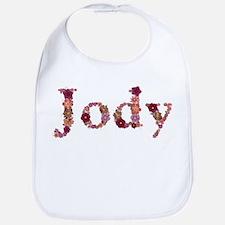 Jody Pink Flowers Bib