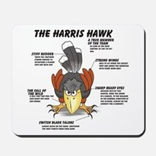 The Harris Hawk Mousepad