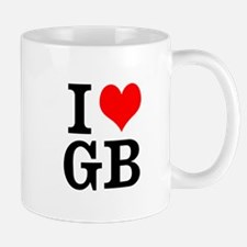 I heart GB Mugs
