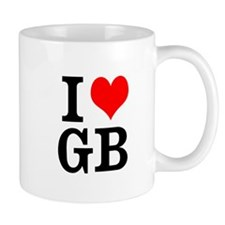I heart GB Mugs