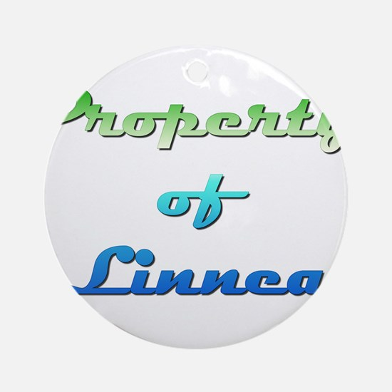 Property Of Linnea Female Round Ornament