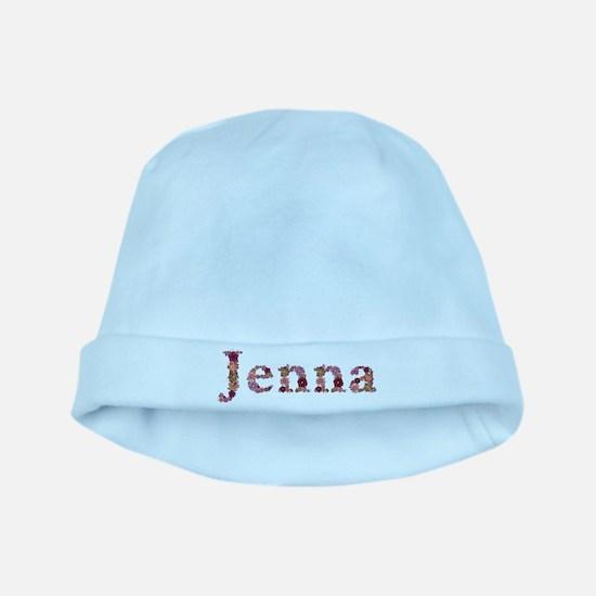 Jenna Pink Flowers baby hat