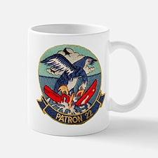 VP 22 Blue Geese Mug