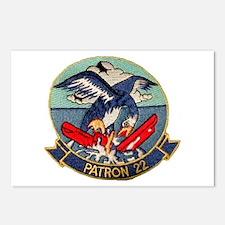 VP 22 Blue Geese Postcards (Package of 8)