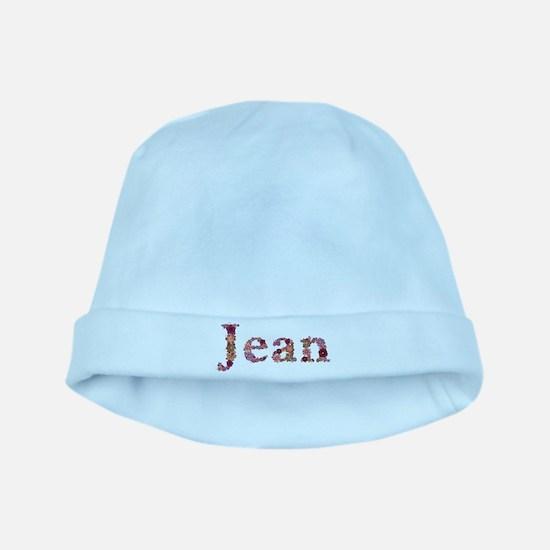 Jean Pink Flowers baby hat