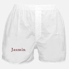 Jasmin Pink Flowers Boxer Shorts
