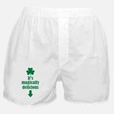 It's magically delicious shamrock Boxer Shorts