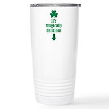 It's magically delicious shamrock Travel Mug